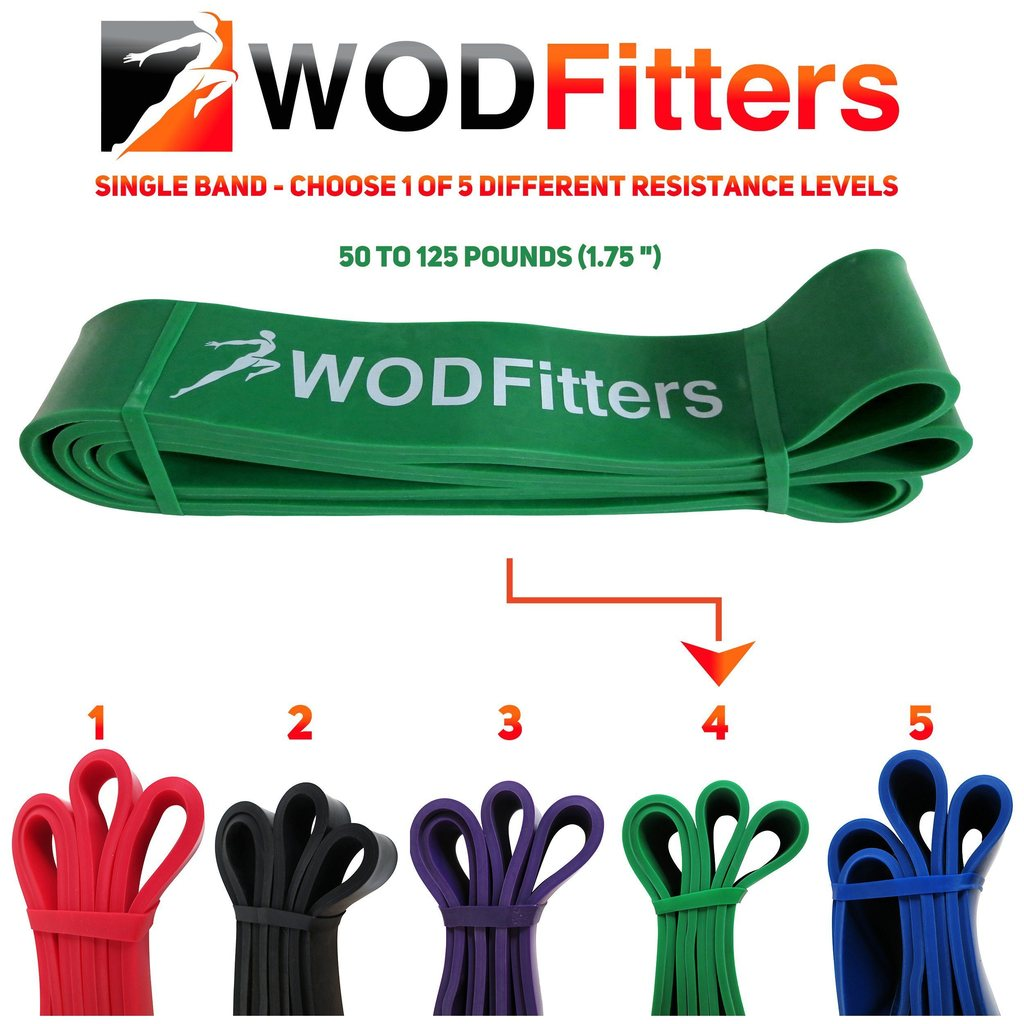 WODFITTER HIGH RESISTANCE BANDS