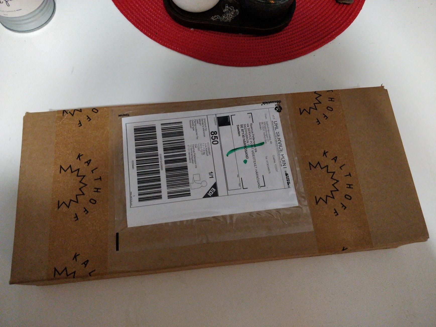 Paket till mig!