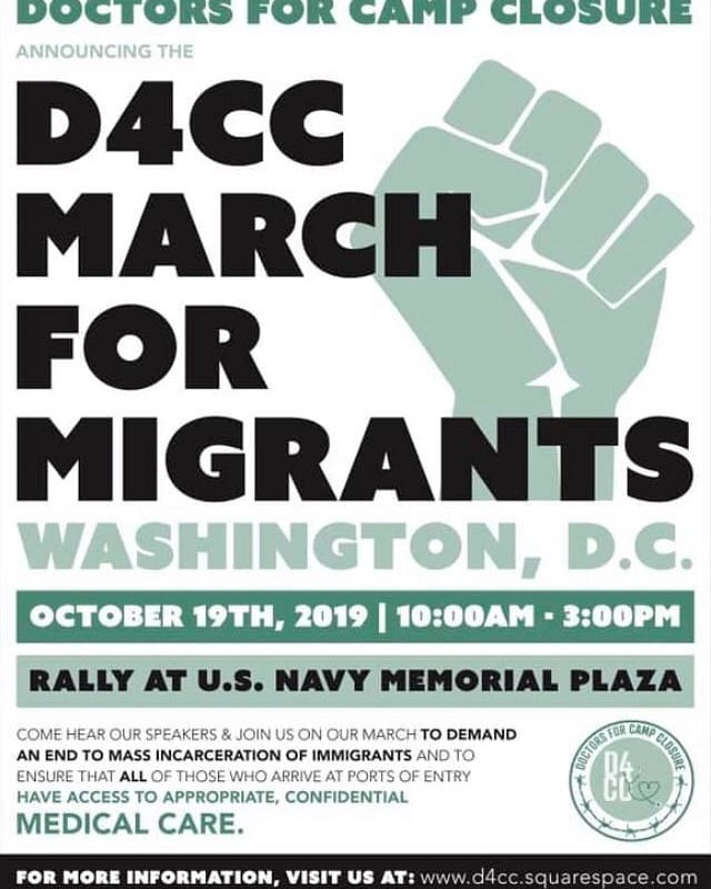 Please spread the word about this to any doctors you know who might be interested in joining! Thank you Doctors for Camp Closure! #d4cc #closethecamps