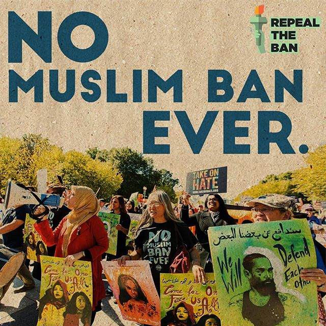 Today 9/24 is the second anniversary of the day the #MuslimBan 3.0 was issued. As the first Congressional hearing on the #MuslimBan starts today, join @raicestexas in telling Congress #repealtheban #NoMuslimBanEver #nobanact #nobannowall .