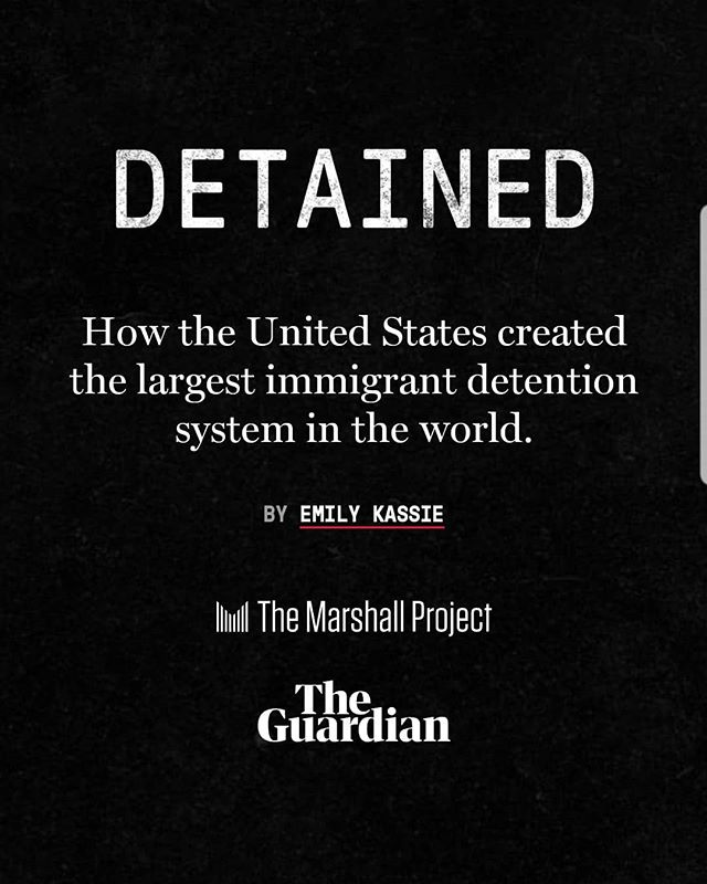 """📢While we are excited about #impeachment proceedings in the US + the UK Supreme Court putting racist + unlawful Eton schoolboys in their place of disgrace, today's must-read for everyone is this important """"deep-dive"""" @guardian @marshallproj report!👇 @emilykassie 👏https://www.themarshallproject.org/2019/09/24/detained  #endfamilydetention #defundhate #closethecamps #neveragainisnow"""