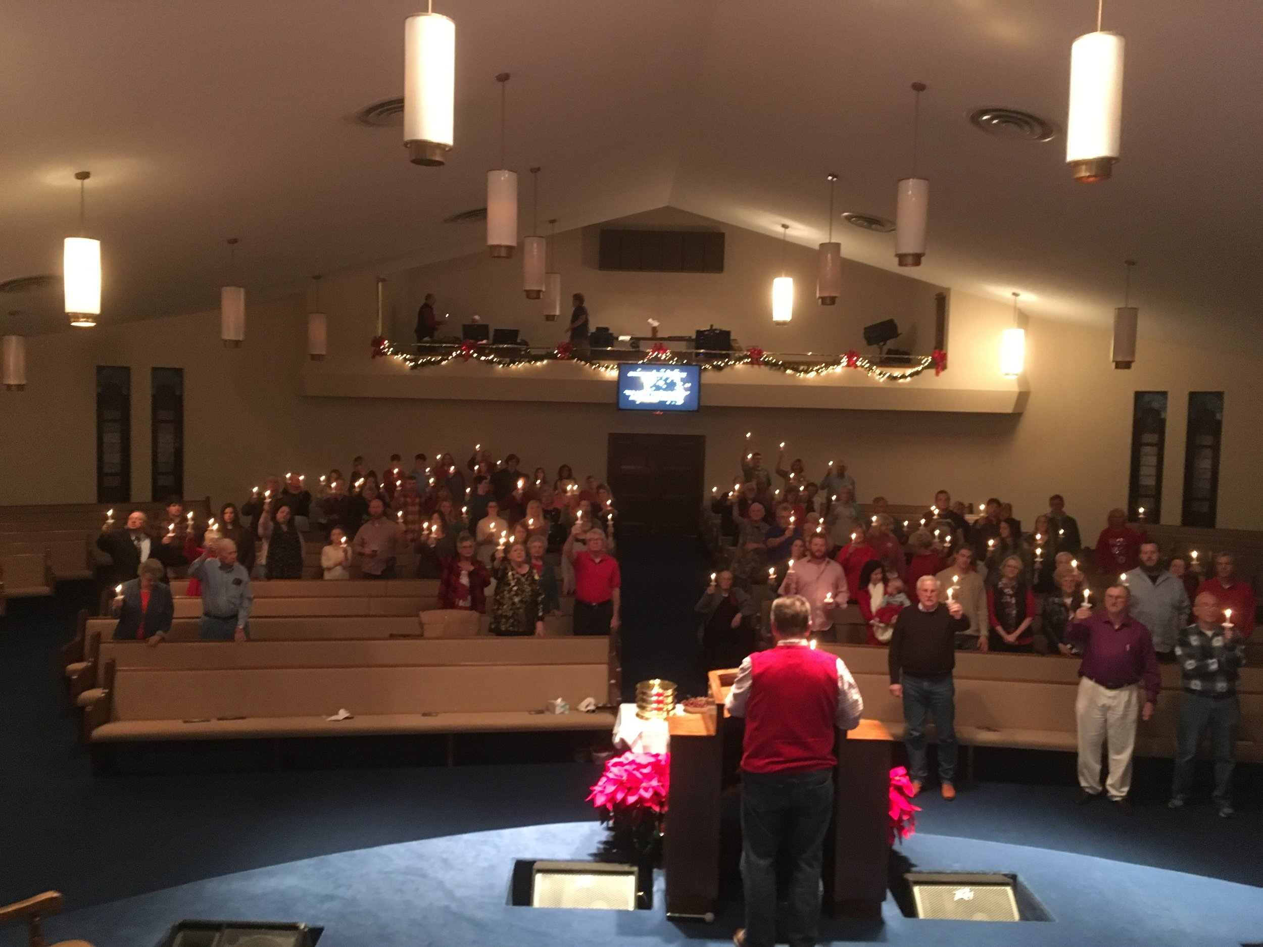 Christmas Eve Candlelight Service - 2018