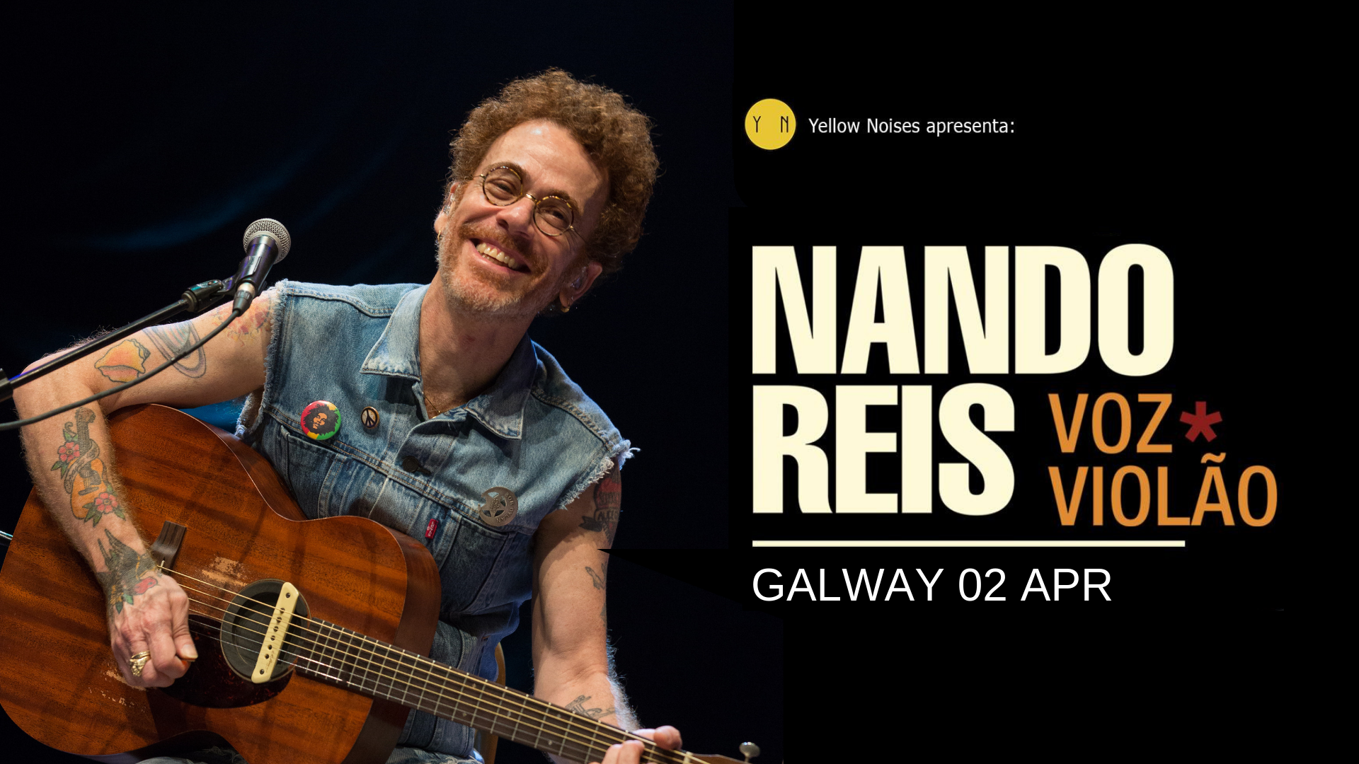 Nando Reis - Galway
