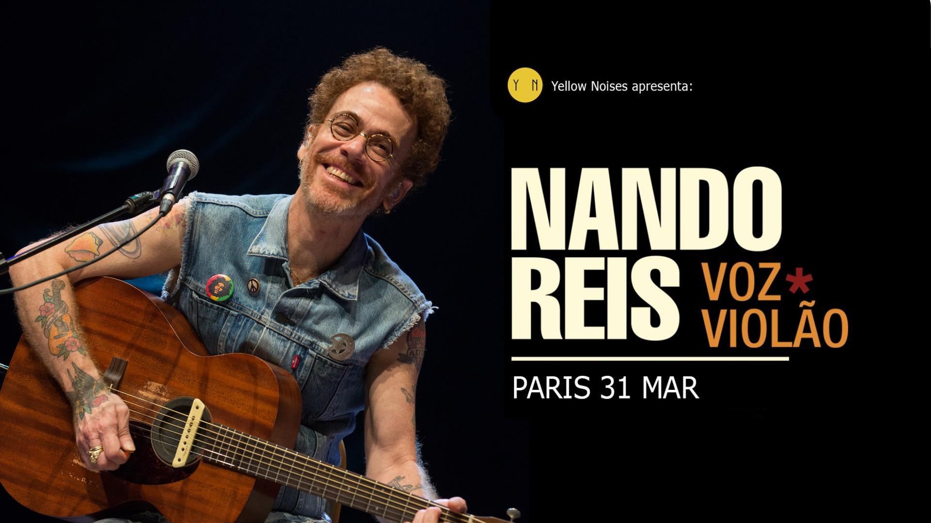 Nando Reis - Paris