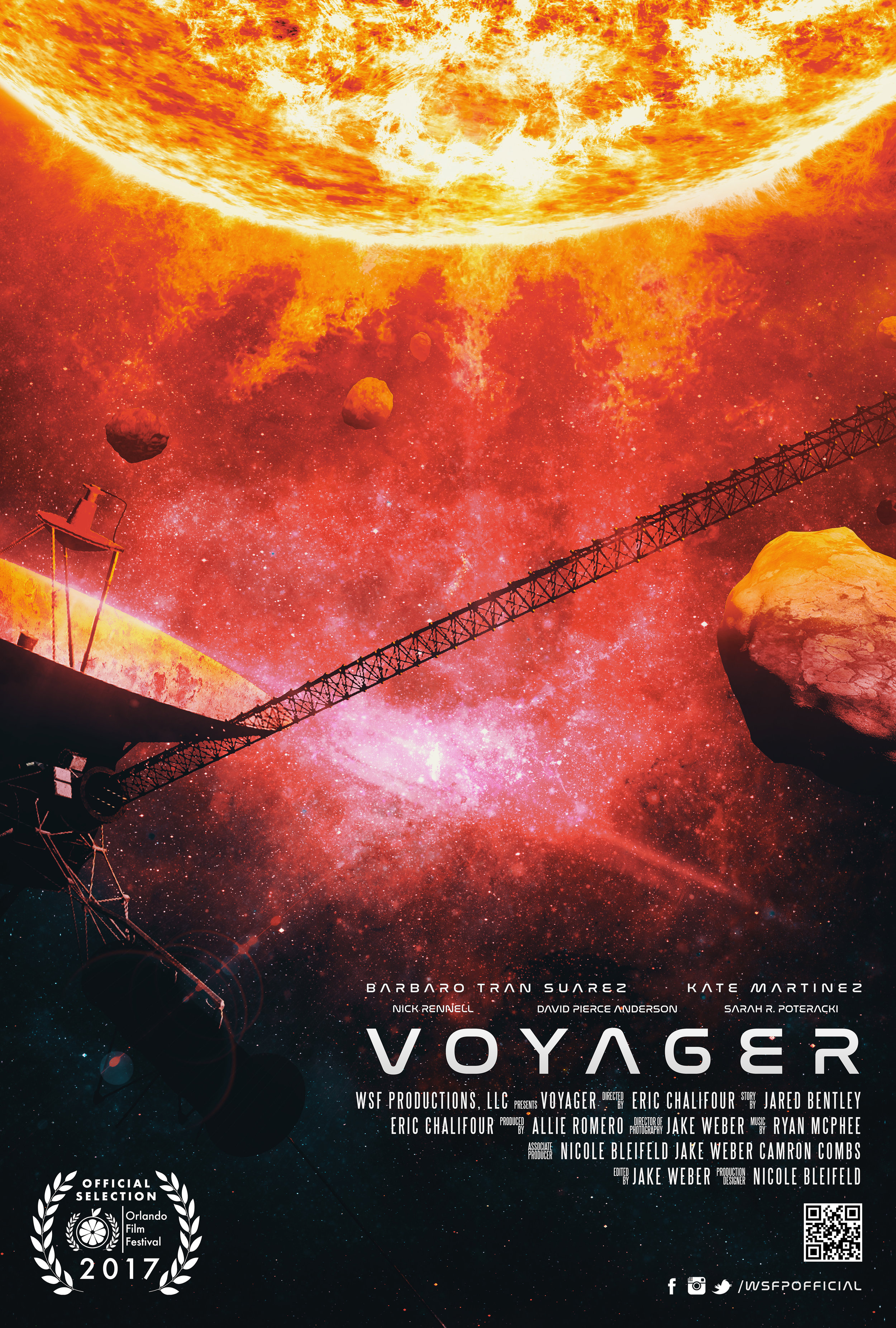 Voyager  A tired science professor finds hope in one tardy student.