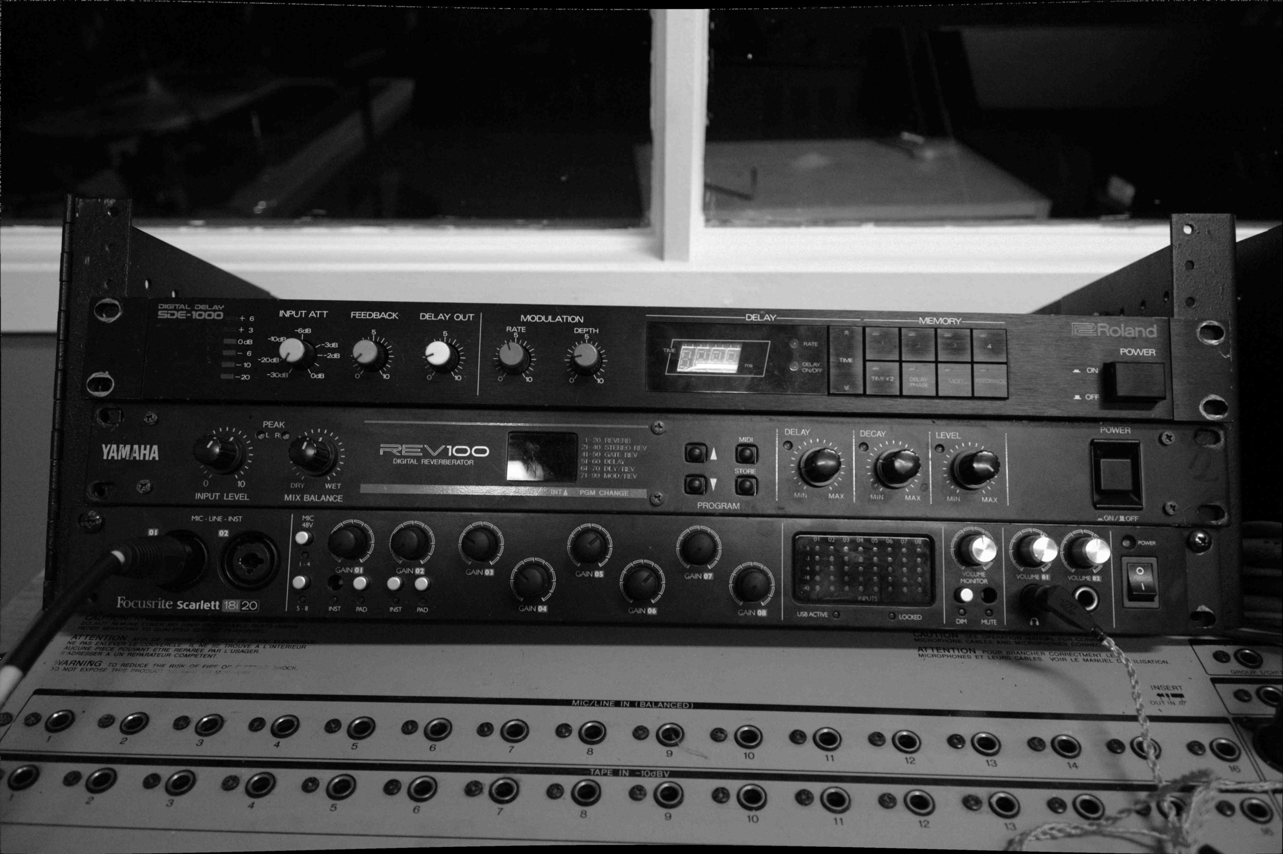 Effects and Audio Interface