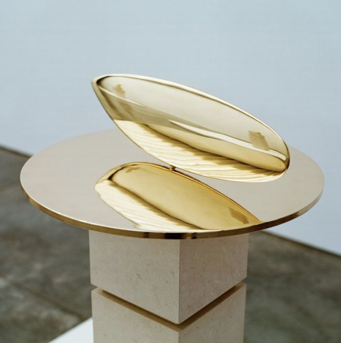Artist   Constantin Brancusi   Title   Le Poisson   Medium   Polished Bronze