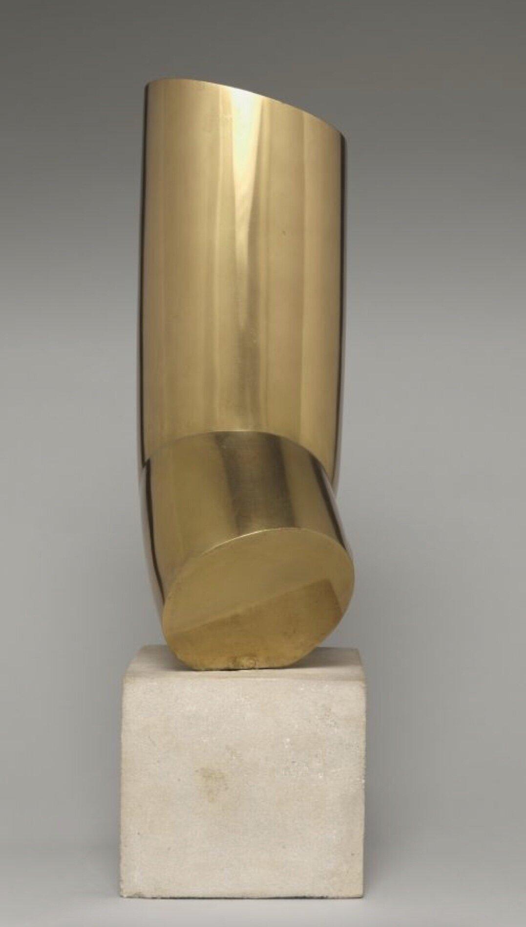 Artist   Constantin Brancusi   Title   Male Torso   Date   1917   Medium   Brass