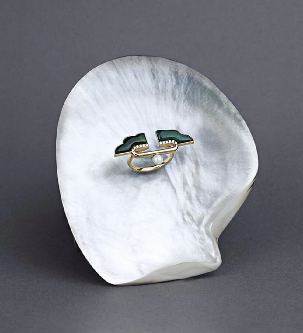A ring from Ioanna Souflia's Atelier Collection.  Image  @ioanna_souflia