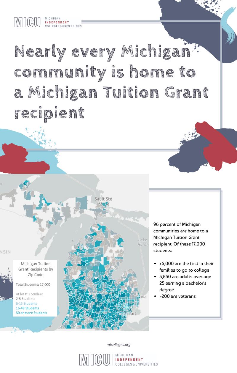Michigan Tuition Grant Recipients by Zip Code — Michigan ...