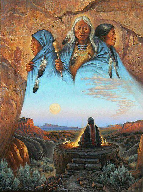 - A call to ancestors…something we can all do to receive wisdom and guidance.❤️