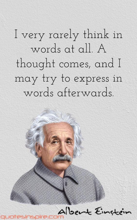 - Think before you speak!