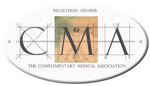Best Practice - Proud to be a registered member of The Complementary Medical Association