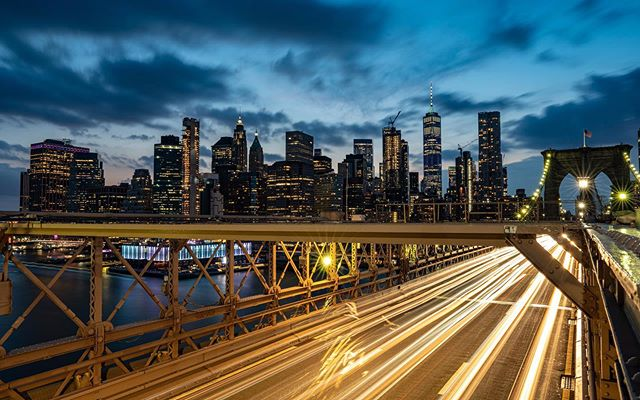 Speed in the big Apple!!! #nycphotographer #nyc #speed #longexposure #skyline #cityscape#arcadeofspeed