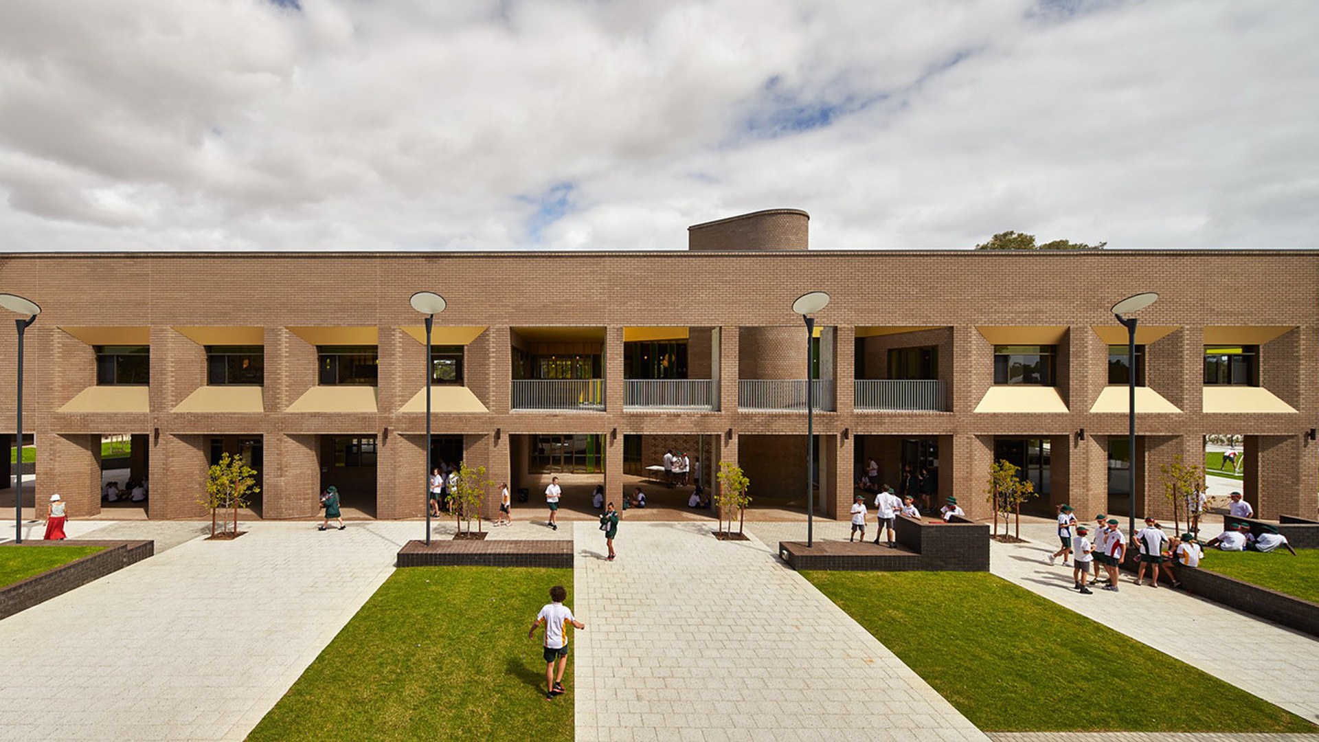 Bunbury Catholic College, CODA and Broderick Architects. Photo by Peter Bennetts.