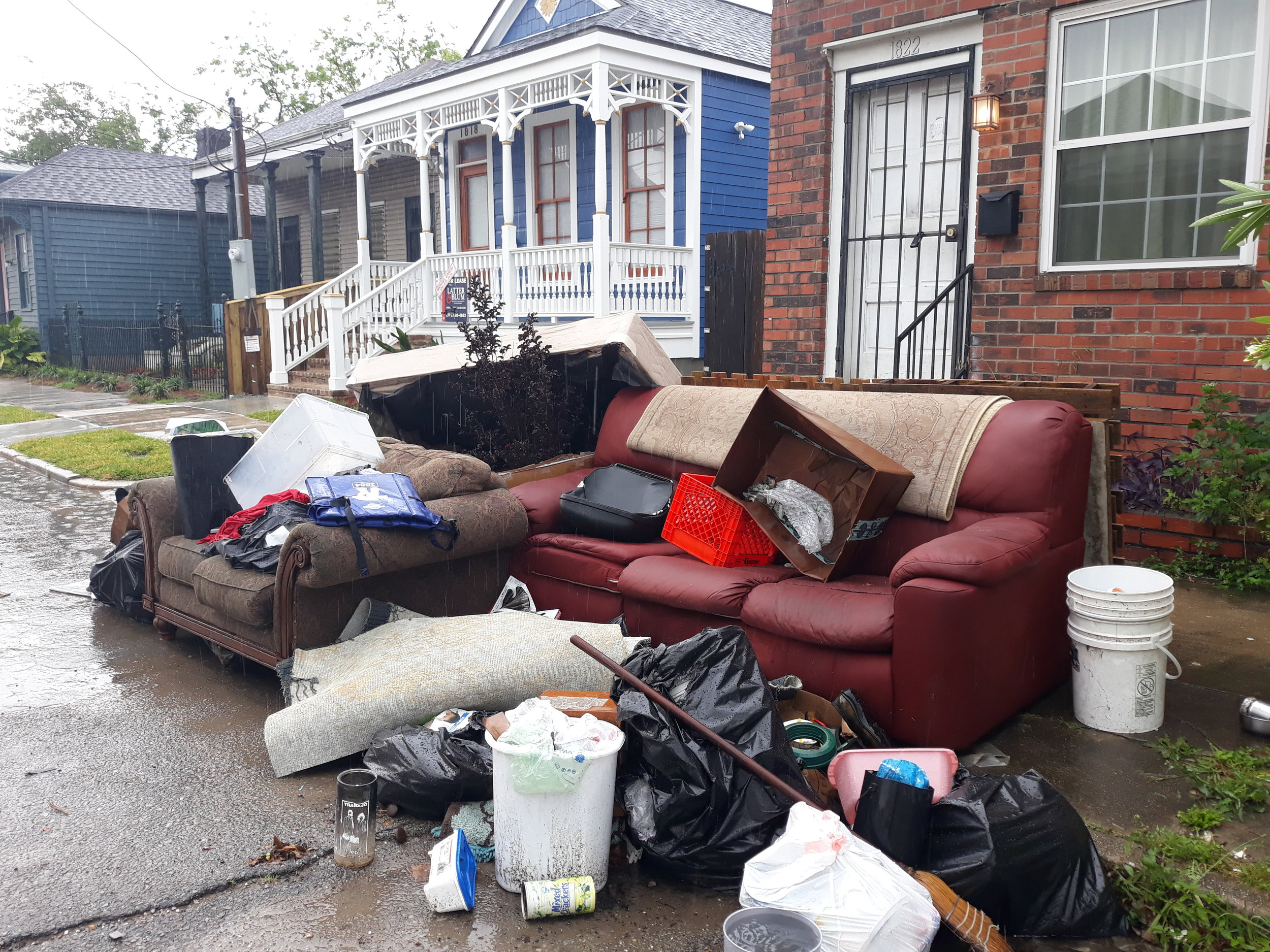 Eviction in the Seventh Ward, New Orleans  Image: Liam Grealy