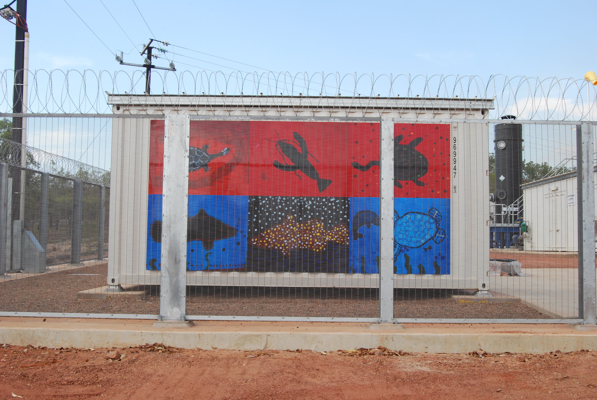 A New Water Treatment Plant, Borroloola  Image: Liam Grealy