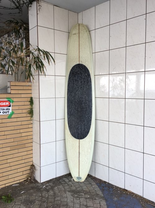 "DASH SURFBOARDS    Black Nail 9'5"""