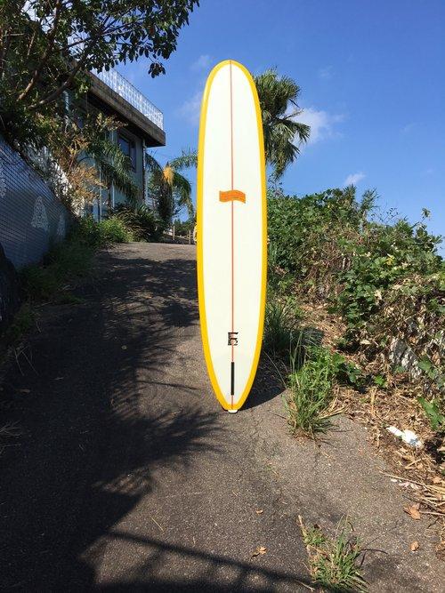 "SURFBOARDS BY DONALD TAKAYAMA  9' 9"""