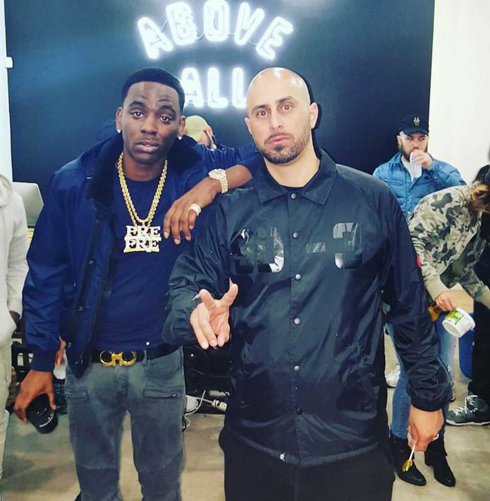 Young Dolph (left), Ghazi Shami (right) - photo courtesy of EMPIRE