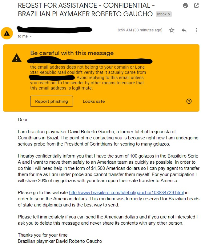 The email that could forever change the club