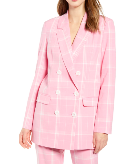 Nordstrom Double Breasted Blazer