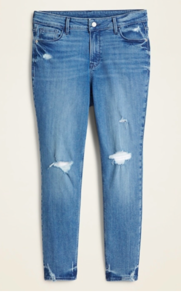Old Navy Distressed Denim