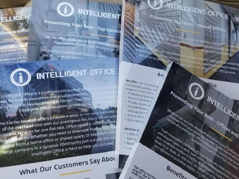Intelligent Office - Regionally Branded Marketing Material