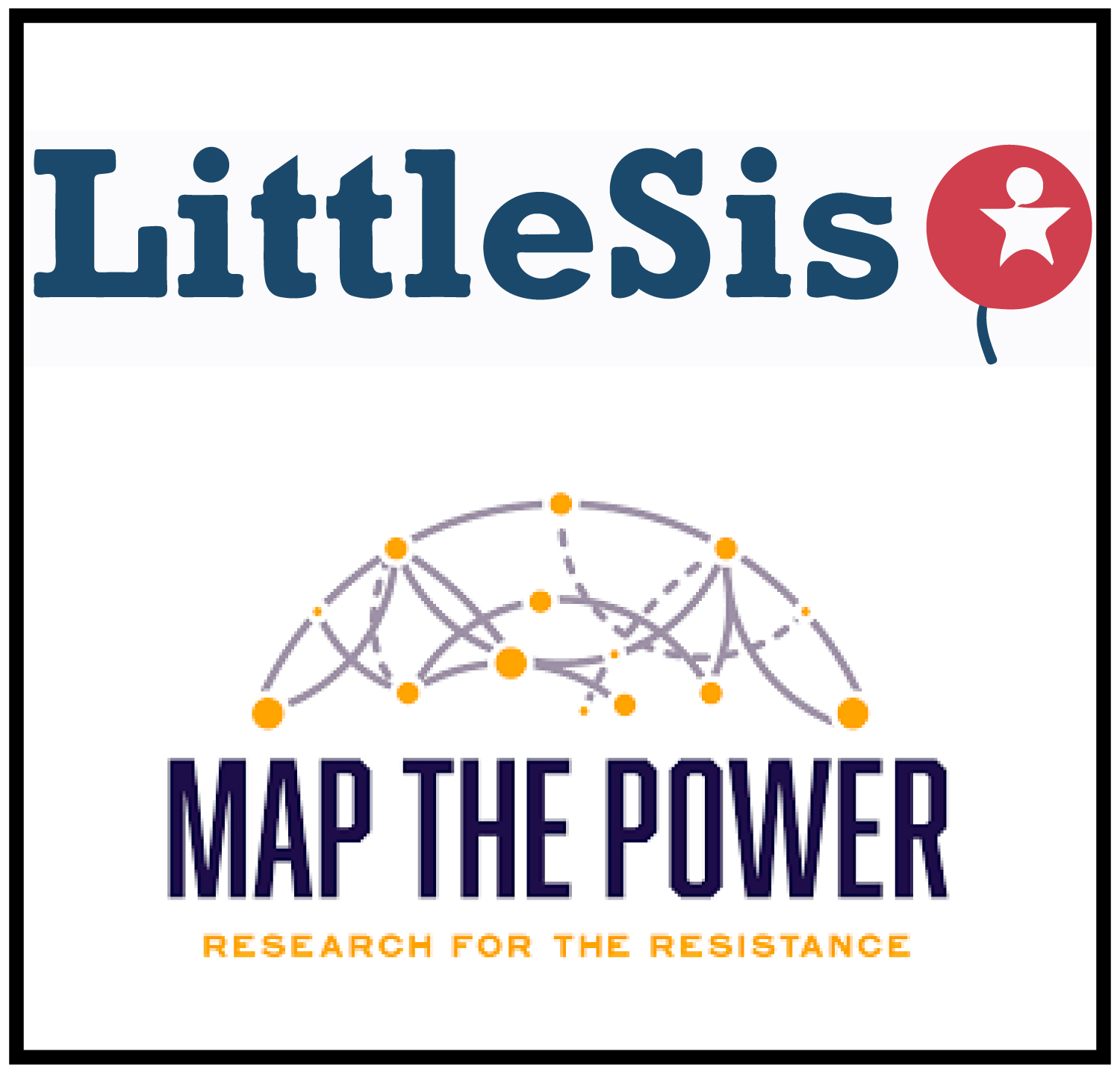 little sis.org - LittleSis (opposite of Big Brother, get it?) is a free database detailing the connections between powerful people and organizations that brings transparency to influential social networks by tracking the key relationships of politicians, business leaders, lobbyists, financiers, and their affiliated institutions. They help answer questions such as:Who do the wealthiest Americans donate their money to?Where did White House officials work before they were appointed?Which lobbyists are married to politicians, and who do they lobby for?All of this information is public, but scattered. Little Sis brings it together in one place.