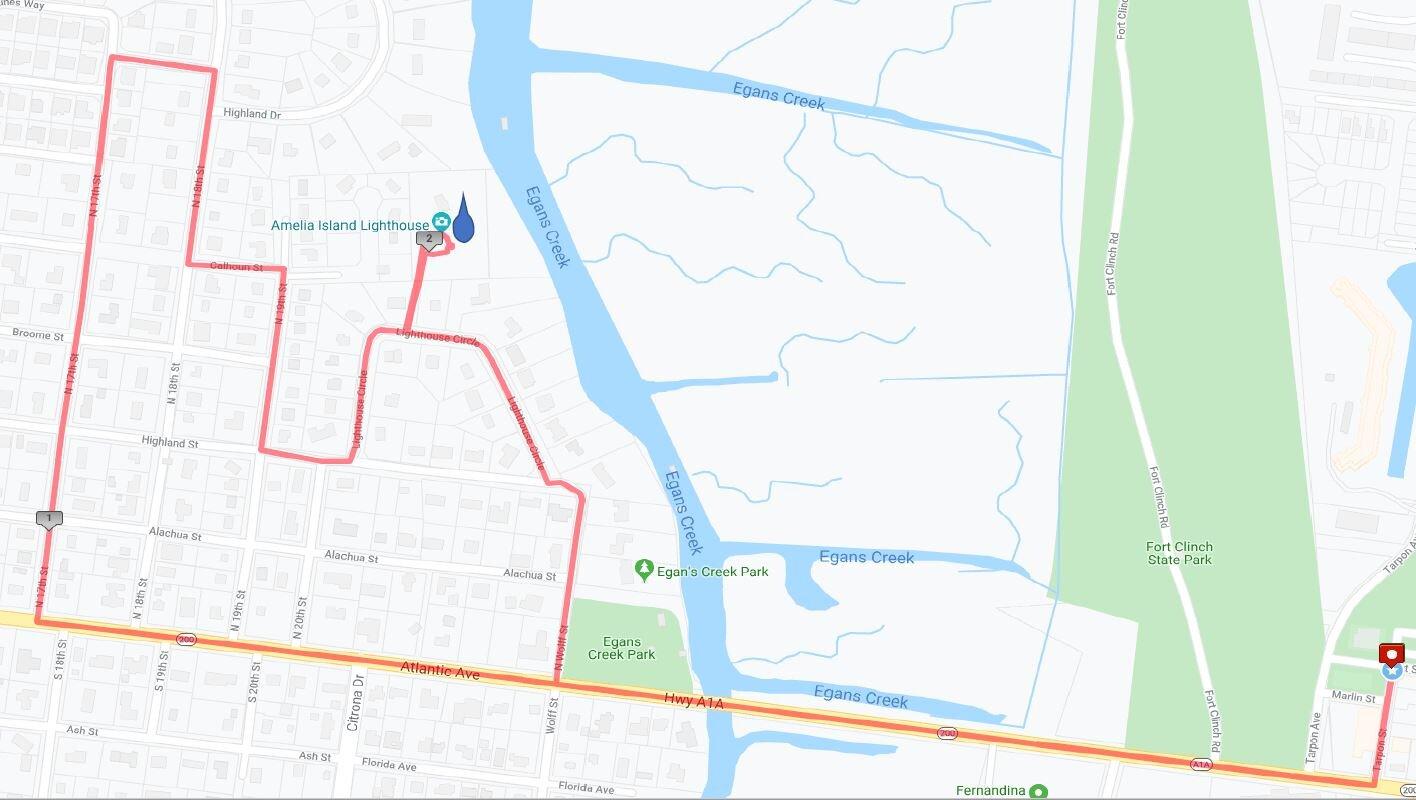 Lighthouse Loop 5K Course Map.JPG