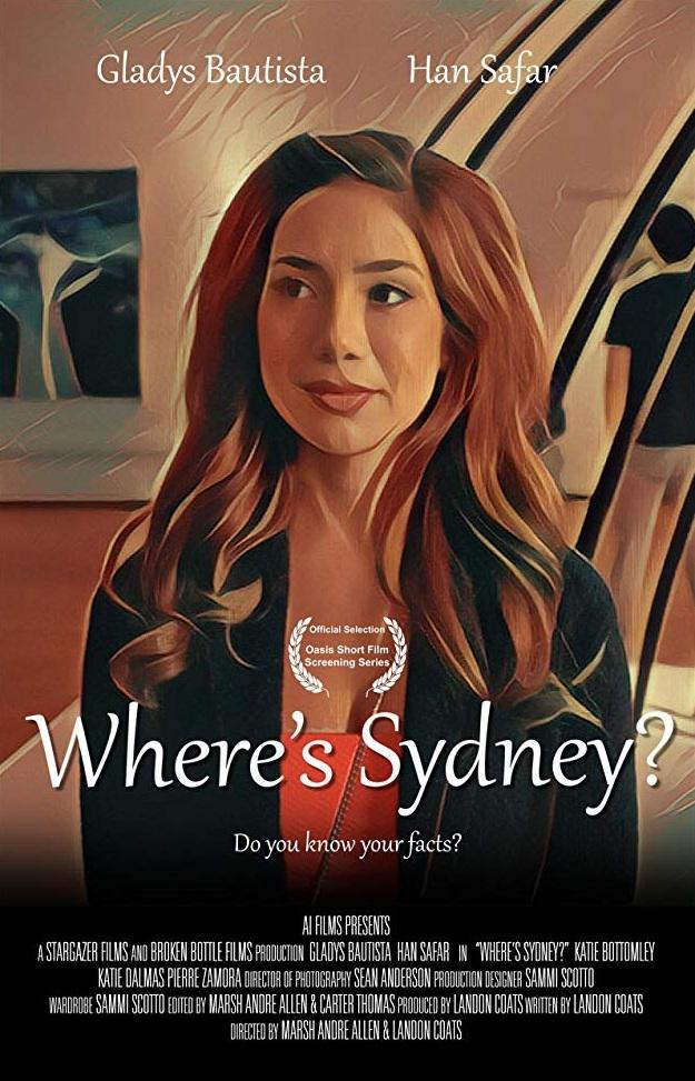 Where's Sydney? (2017) - Short Film / Writer,Producer,Director