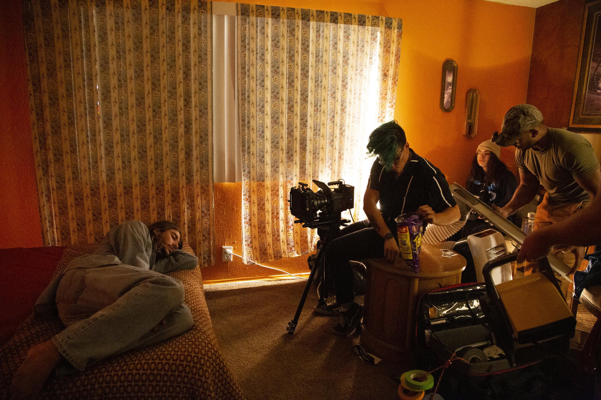 Behind the scenes of Motel 32 short film