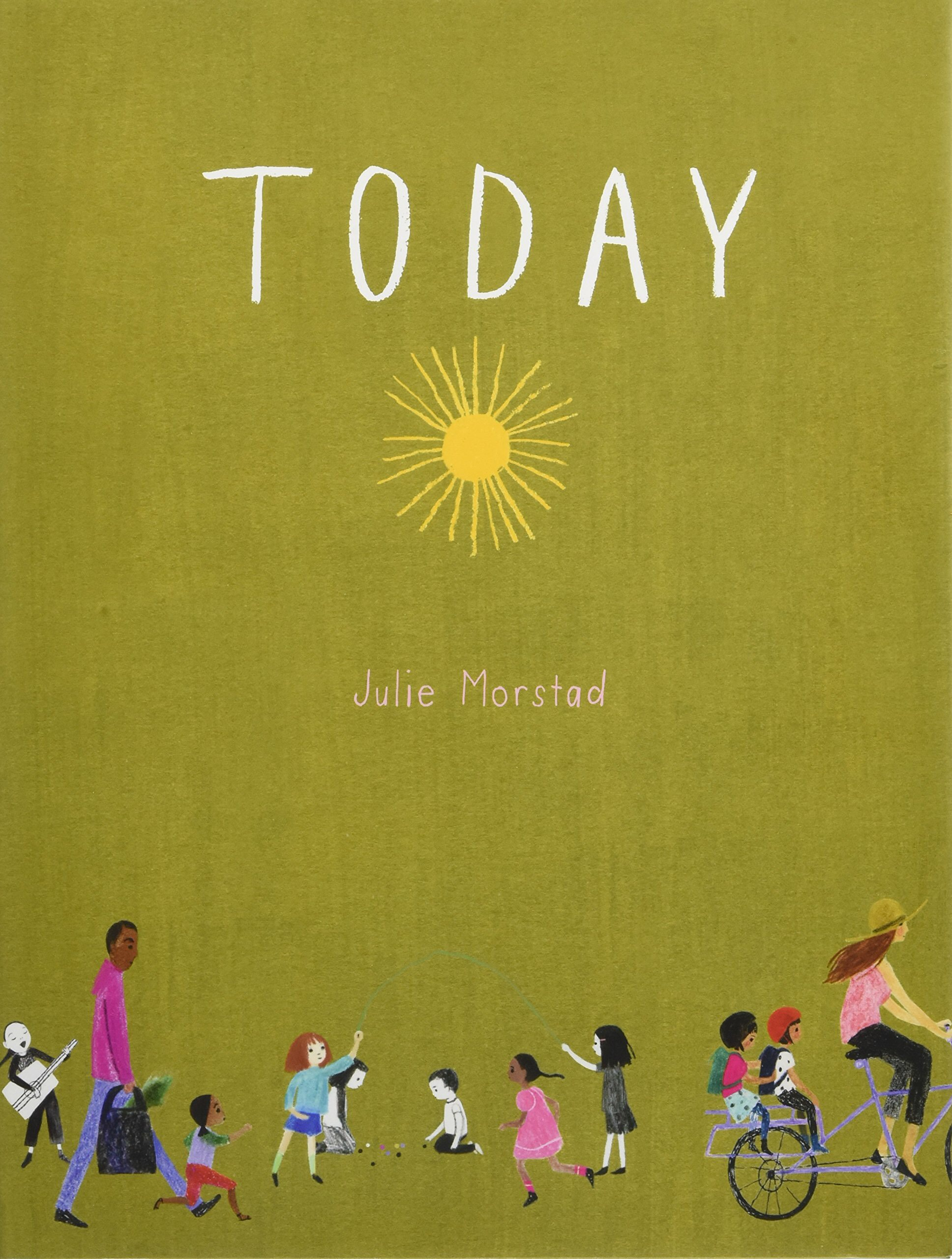 Today, Julie Morstad - With few words and lots of questions this book is perfect to get your little one talking! Readers are given the option to discuss topics such as: breakfast, outfits, and places. Today was a hit with our book clubbers and the illustrations are simply stunning!This book is perfect for students aged six and below.