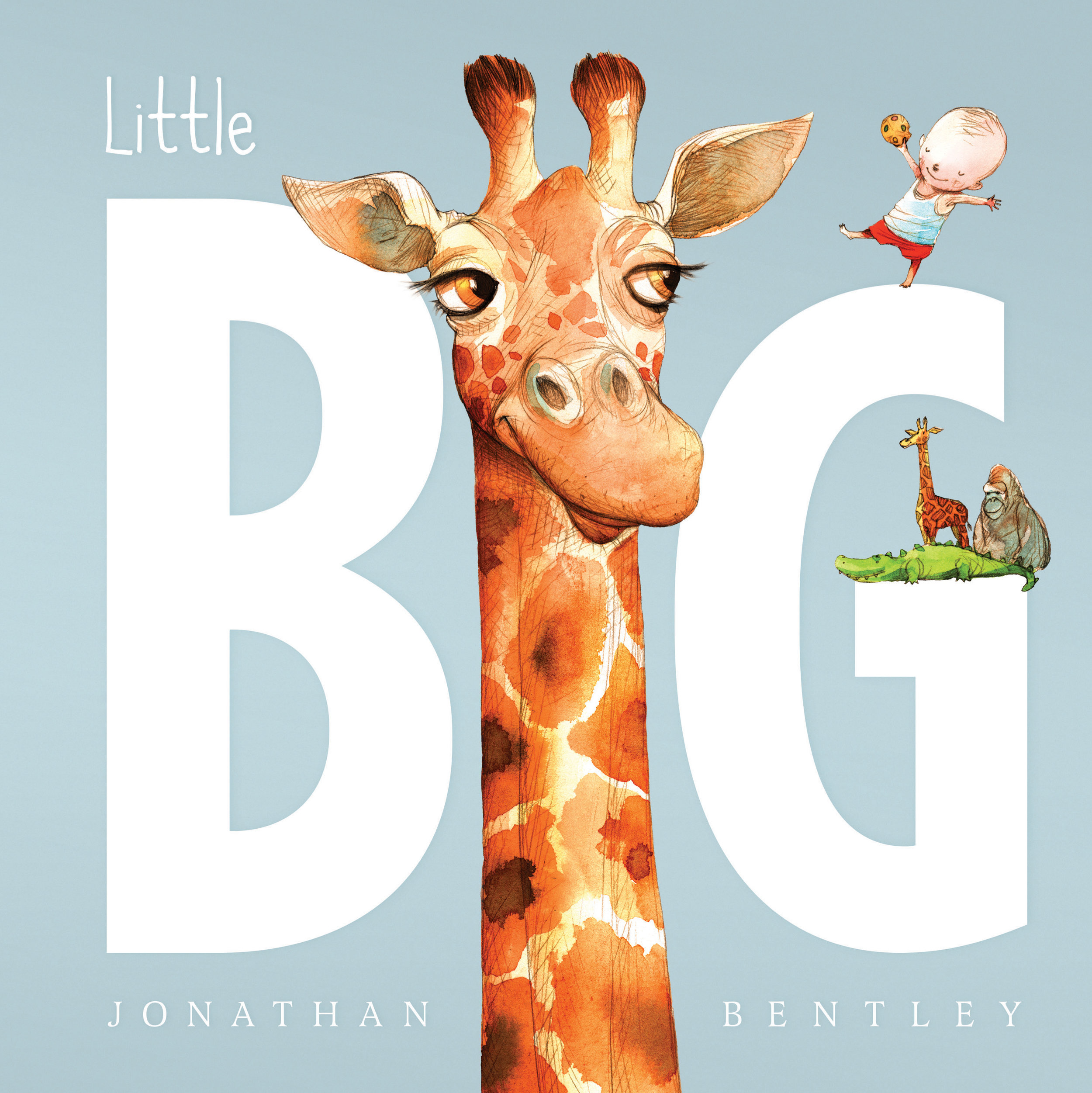 Little Big, Jonathan Bentley  - This book explores the perceived problems of a little boy who constantly compares himself to his much older, bigger, and wiser brother. Our book clubbers loved this book as they all had at least one sibling! This is a fantastic story to read to your little one if they're always wishing they were older!