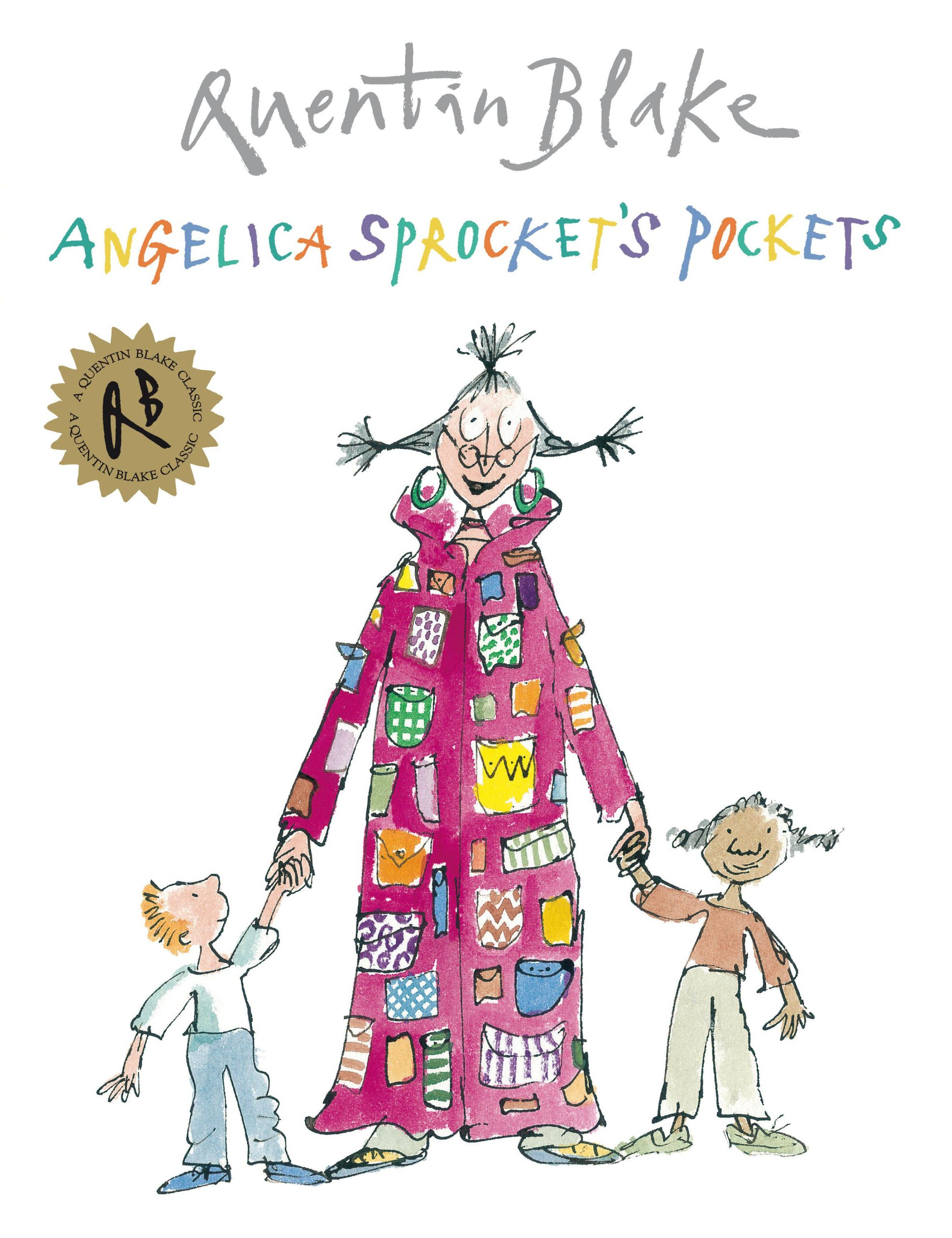 Angela Sprocket's Pockets, Quentin Blake - A Quentin Blake classic is a fantastic choice for any book club! Our viewers were rolling around with laughter at the nonsense that emerges from Angela Sprocket's pockets. Handkerchiefs, cheese, umbrellas…whatever next! As a follow-up activity, we asked our book clubbers to draw another pocket and surprise their friends with an unexpected pocket filler. Teachers, parents, and students can have so much fun with this book!