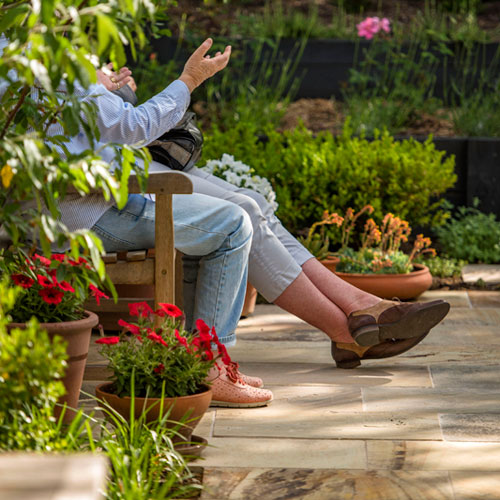 Landscape Designer Dinah Meagher will consult with you in person to discuss your garden design requirements - Canberra Gardens