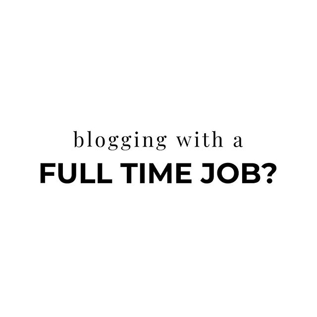 There's a new post live on how I (attempt to) balance blogging with a full time job... but I want to hear from you. If you're a content creator with competing priorities, how do you keep everything balanced? What is the best advice you've been given? What advice would you give to someone just starting out? (I would love to hear from you in the comments 😘) . . . . .  #ontheblog #savvyblogging #bloglovin #blogsociety #bloggerlife #bloggersofinstagram #bloggergirl #contentcreator #contentcreators #creativecontent #contentcreation #digitalcontent #visualcontent #socialmediacontent #contentstrategy #contentmarketingtips #creativeagency #creativestudio #creativethinking #ipreview #saturdayhustle #productivityhacks #blogtips #bloggingadvice #blogwork #weekendwarriors #gogetitgirl