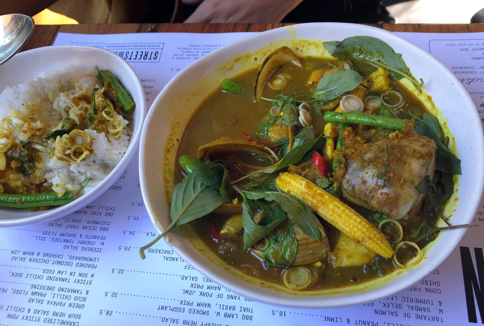 Jungle Curry of Steamed Fish