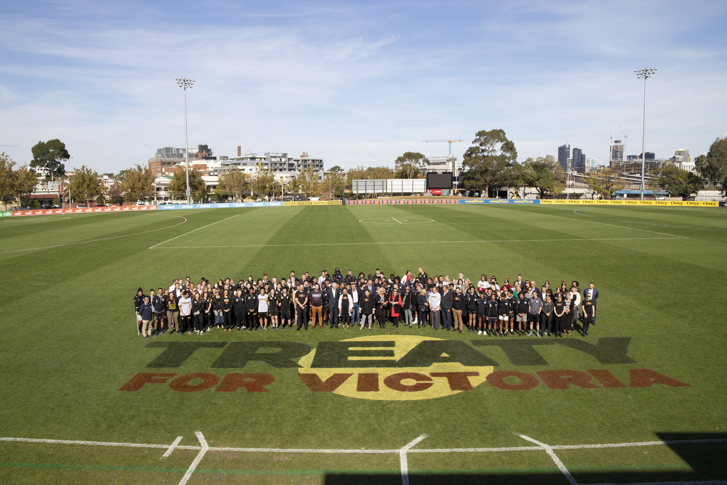 The Victorian Treaty Advancement Commission is partnering with Richmond Football Club to promote the Treaty process. The club used the annual 'Dreamtime at the G', played on May 25th, as an opportunity to raise awareness of Treaty.