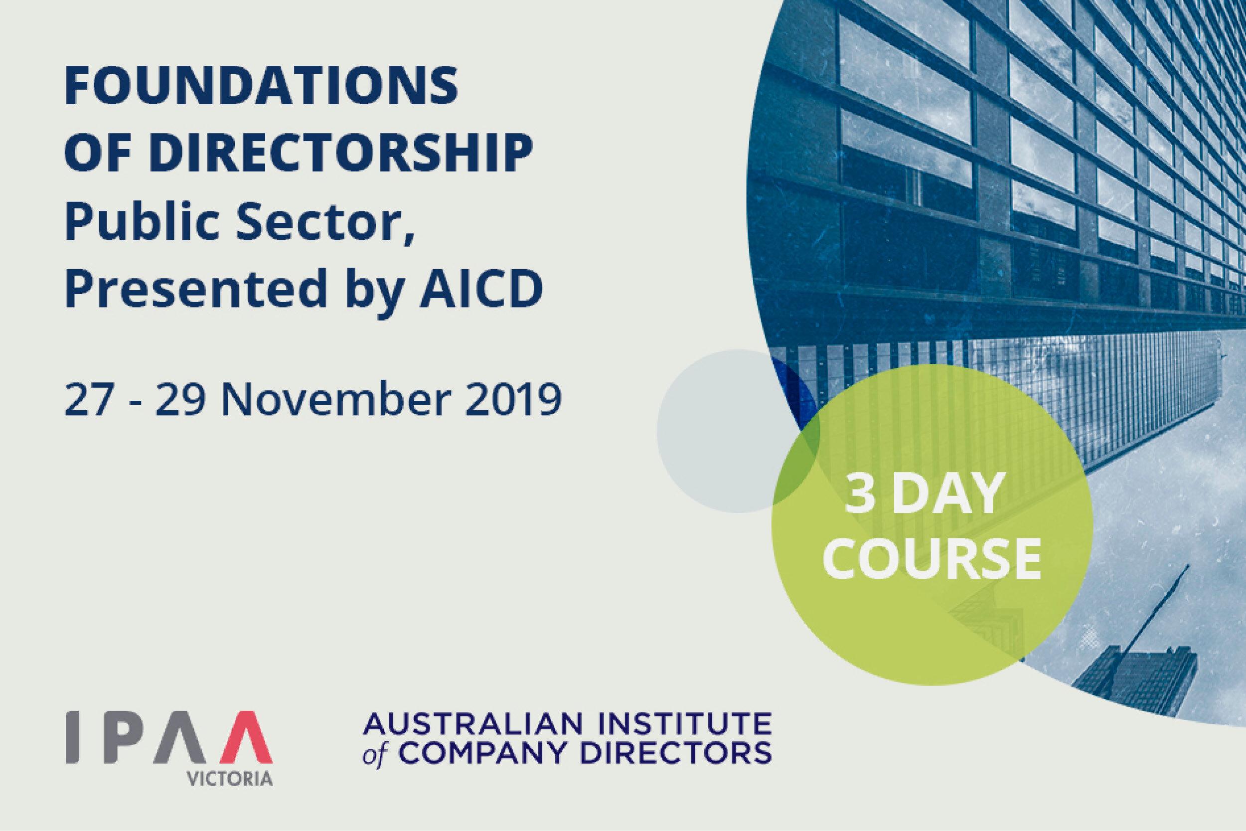 Foundations of Directorship
