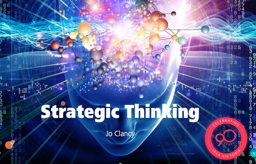 Strategic Thinking Slides — IPAA Victoria