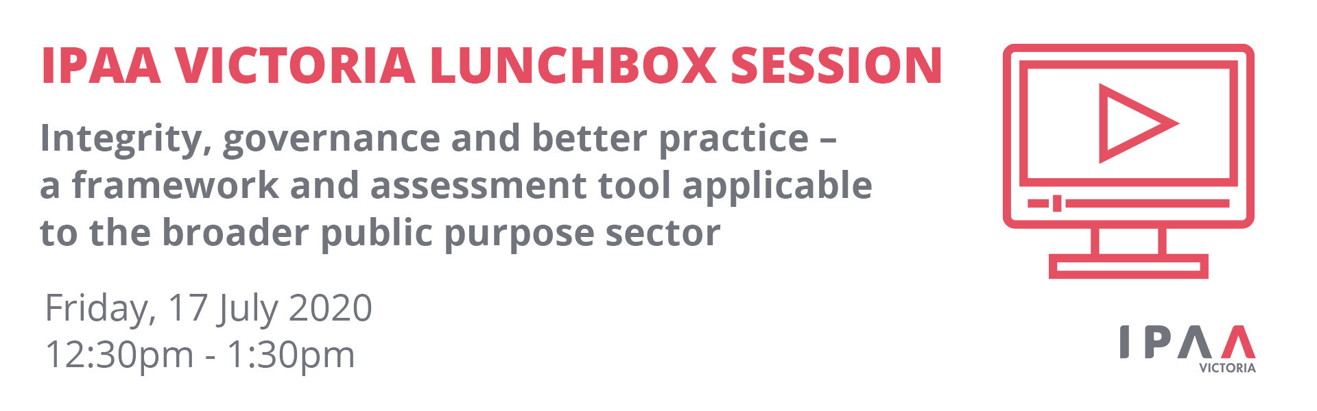 Lunchbox Seminar – Integrity, governance and better ...