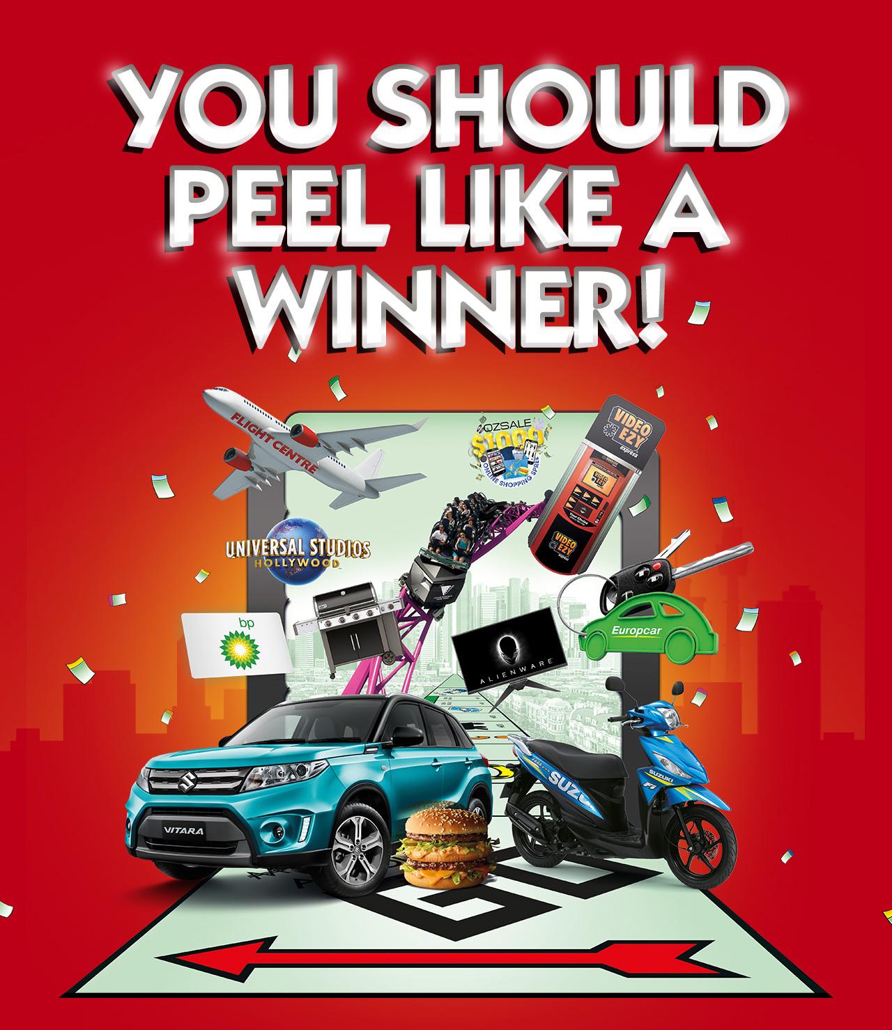 Maccas Monopoly -