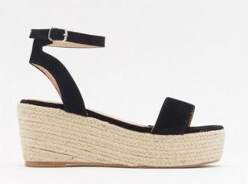 Raffia Flatform Sandals