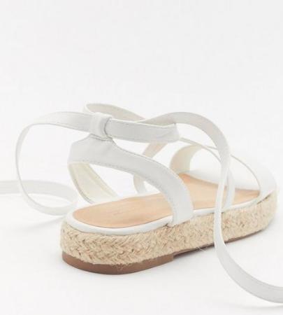Walk the Walk Lace Up Platform Sandals