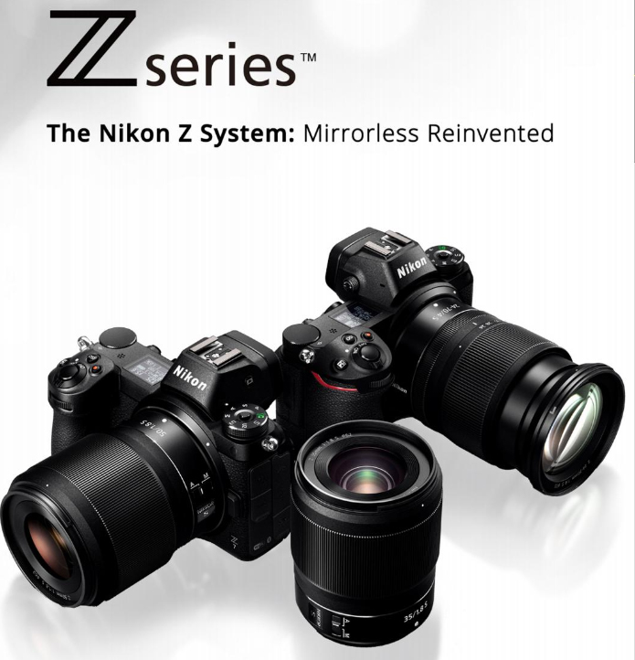 Nikon z series - Nikon Z Mount System,and Releases Two Full-Frame Mirrorless Cameras:the Nikon Z 7 and Nikon Z 6click here to read more…
