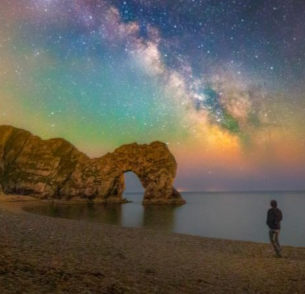 Durdle Door - Durdle Door (sometimes written Durdle Dor) is a natural limestone arch on the Jurassic Coast near Lulworth in Dorset, England.Click here to read more…