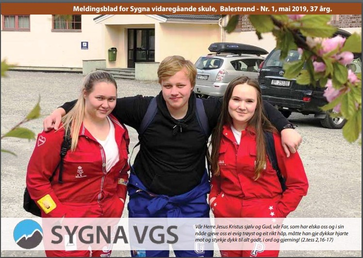 Mai 2019 - Les Sygnabladet her