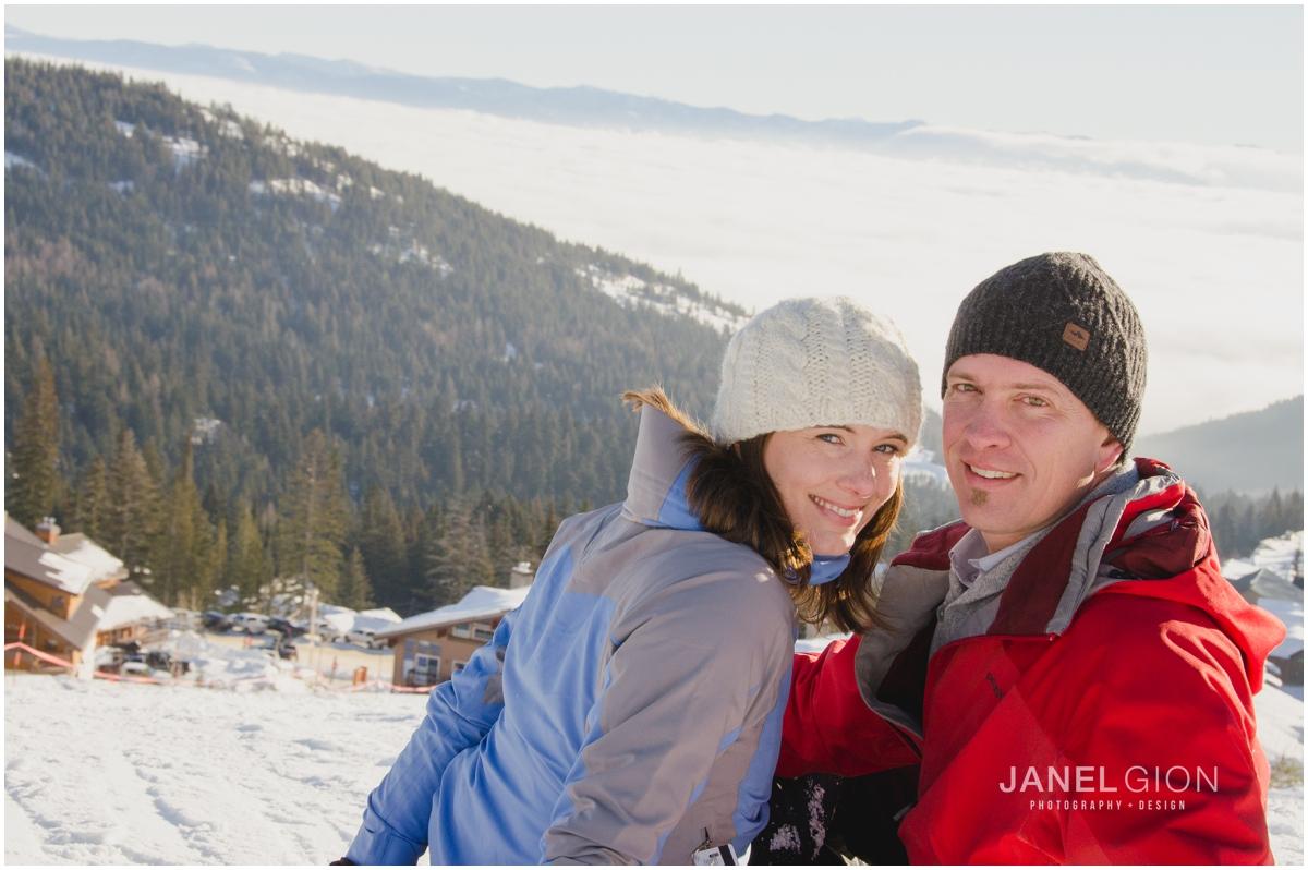 Sandpoint Idaho Engagement