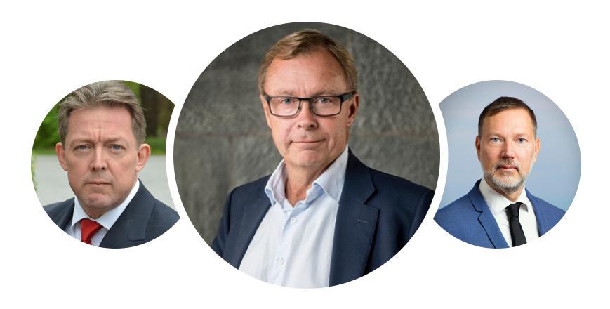 Peter Malmkvist, chef Analysguiden Aktiespararna  Björn Wallin, verkställande ledamot SMEsweden  Dennis Westermark, delägare Advokatfirman Westermark Anjou